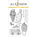 Altenew - Clear Acrylic Stamps - Summer Swirls