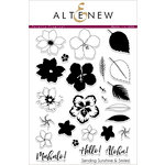 Altenew - Clear Acrylic Stamps - Totally Tropical