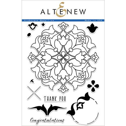 Altenew - Clear Photopolymer Stamps - Arabesque Medallion