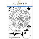 Altenew - Clear Acrylic Stamps - Arabesque Medallion