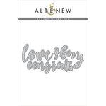 Altenew - Dies - Script Words