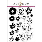 Altenew - Clear Acrylic Stamps - Flower Arrangement