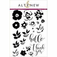 Altenew - Clear Photopolymer Stamps - Flower Arrangement