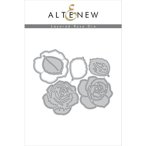 Altenew - Dies - Layered Rose