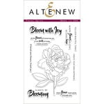 Altenew - Clear Photopolymer Stamps - Peony Spray