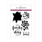 Altenew - Clear Acrylic Stamps - Mini Rose
