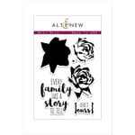 Altenew - Clear Photopolymer Stamps - Mini Rose
