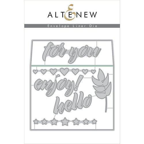 Altenew envelope liner die set