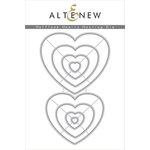 Altenew - Dies - Halftone Hearts Nesting