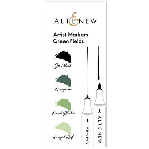 Altenew - Artist Markers - Green Fields