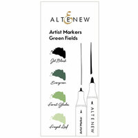 Altenew - Artist Markers - Green Fields