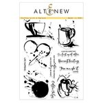 Altenew - Clear Acrylic Stamps - Coffee with a Splash