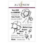 Altenew - Clear Acrylic Stamps - Cotton Comfort