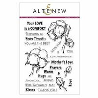 Altenew - Clear Photopolymer Stamps - Cotton Comfort