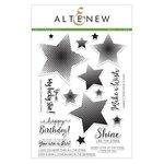 Altenew - Clear Acrylic Stamps - Halftone Stars