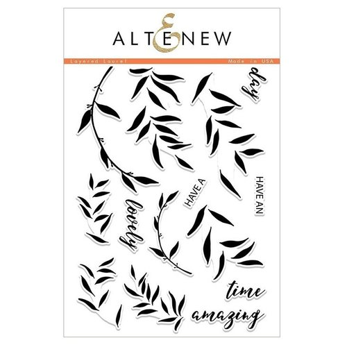 Altenew - Clear Photopolymer Stamps - Layered Laurel