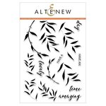 Altenew - Clear Acrylic Stamps - Layered Laurel