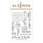 Altenew - Christmas - Clear Acrylic Stamps - Love and Light