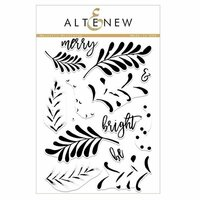 Altenew - Christmas - Clear Photopolymer Stamps - Majestic Mistletoe
