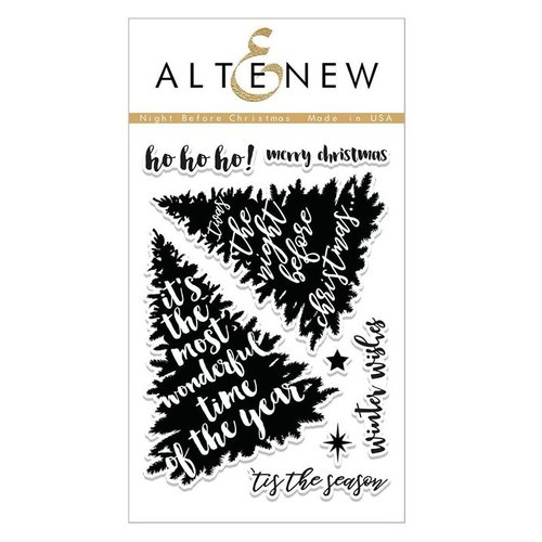 Altenew - Christmas - Clear Photopolymer Stamps - Night Before Christmas
