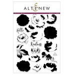 Altenew - Clear Acrylic Stamps - Winter Rose
