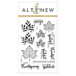 Altenew - Clear Acrylic Stamps - With Gratitude