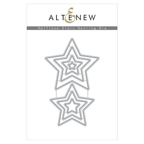 Altenew - Dies - Halftone Stars Nesting