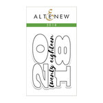 Altenew - Clear Photopolymer Stamps - 2018