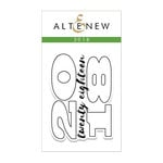 Altenew - Clear Acrylic Stamps - 2018