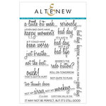 Altenew - Clear Acrylic Stamps - Bad Days Happen