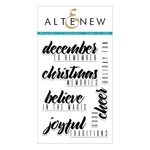 Altenew - Clear Photopolymer Stamps - December to Remember