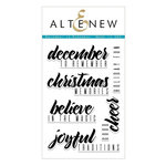Altenew - Clear Acrylic Stamps - December to Remember
