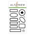 Altenew - Clear Acrylic Stamps - Dot Labels