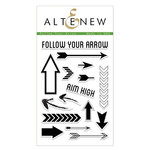 Altenew - Clear Acrylic Stamps - Follow Your Arrow