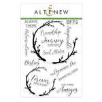 Altenew - Clear Acrylic Stamps - Forever and a Day