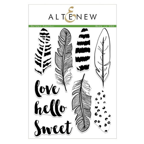 Altenew - Clear Photopolymer Stamps - Golden Feather