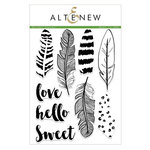 Altenew - Clear Acrylic Stamps - Golden Feather