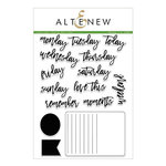 Altenew - Clear Acrylic Stamps - Journal Card Builder