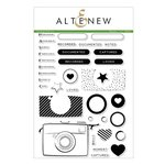 Altenew - Clear Photopolymer Stamps - Snapshots