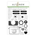 Altenew - Clear Acrylic Stamps - Snapshots