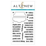 Altenew - Clear Acrylic Stamps - Tabbed