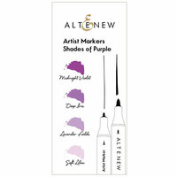 Altenew - Artist Markers - Shades of Purple