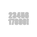 Altenew - Dies - Bold Numerals