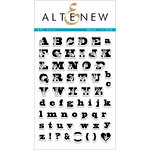 Altenew - Clear Acrylic Stamps - ASL Love