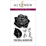 Altenew - Clear Acrylic Stamps - Carved Rose