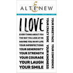 Altenew - Clear Acrylic Stamps - Everything About You