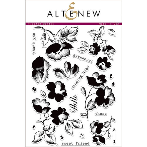 Altenew - Clear Photopolymer Stamps - Frosted Garden