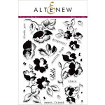 Altenew - Clear Acrylic Stamps - Frosted Garden
