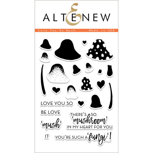 Altenew - Clear Photopolymer Stamps - Love You So Mush