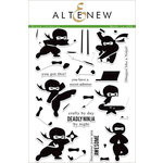 Altenew - Clear Acrylic Stamps - Ninja Invasion